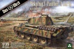 画像1: ダス・ヴェルク[USCDW35009]1/35 ドイツ V号戦車 パンターA型 前期型 (インテリア&ツィンメリット無し)