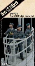 ダス・ヴェルク[USCDWF011]1/72 WW.I ドイツ Uボート SM U9用 船橋クルーフィギュアセット (3体)