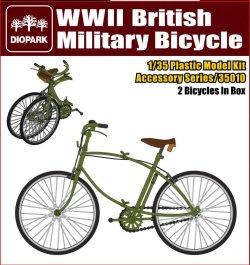 画像1: ダイオパーク[DP35010] 1/35 WWII 英軍用自転車