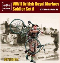 画像1: ダイオパーク[DP35014]1/35 WWII英軍 海兵隊兵士セットA