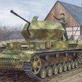 サイバーホビー[CH6746]1/35 WW.II ドイツ軍 IV号対空戦車 オストヴィント w/ツィメリットコーティング