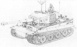 """画像3: ドラゴンモデル[DR6800]1/35 WW.II ドイツ軍 ティーガーI 後期生産型 """"ヴィットマン ラスト タイガー"""""""