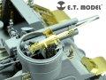 E.T.MODEL[EA35-040]WWII米 M2HB 機関銃 w/50発 弾薬箱