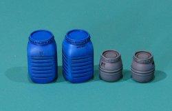 画像1: EUREKA XXL[E-041]1/35 現用 プラスチック食品貯蔵コンテナセットセット♯1