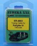 EUREKA XXL[ER-4803]1/48 WWII独 IV号戦車牽引ケーブルセット