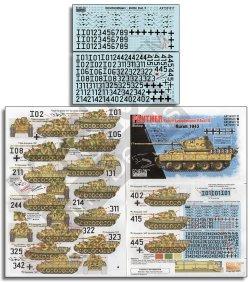 画像1: Echelon[AXT351017]1/35 WWII 独 第51戦車大隊所属のパンターD型「バッチ2」クルスク1943