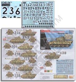画像1: Echelon[AXT351032]1/35 WWII 独 武装親衛隊 第12SS装甲師団HJ所属のパンター(2)ノルマンディー1944