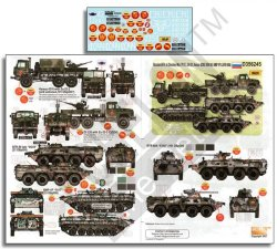 画像1: Echelon[D356245]1/35 チェチェン紛争のロシア軍AFV Part.2 ジル131,カマズ4310,BTR-80,BMP-1