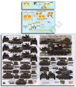 画像1: Echelon[D356263]1/35 米 ベトナム戦争に派兵された第5騎兵連隊第3大隊のM551とM113