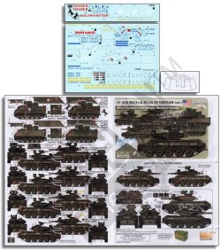 画像1: Echelon[D356265]1/35 米 ベトナム戦争での第11装甲騎兵連隊所属のM551とM113(パート2)