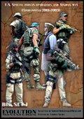 エボリューション[BigSet-1 ]1/35 現用アメリカ軍特殊部隊 オペレーターに尋問されるアフガニスタン人