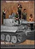 エボリューション[BigSet-3 ]1/35 WwIIドイツ陸軍 戦車搭乗員 大戦初期セット 夏場の整備