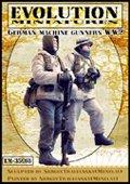 エボリューション[EM-35018]1/35 WWIIドイツ陸軍 冬季装備の機関銃チーム