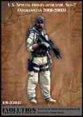 エボリューション[EM-35047]1/35 現用アメリカ特殊部隊 尋問を見守るオペレーター アフガニスタン2001〜2003(2)
