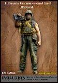 エボリューション[EM-35056]1/35 アメリカ海兵隊隊員 M60射撃手 ベトナム(2)