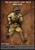 エボリューション[EM-35094]1/35 WWII戦うソビエト兵士(4)前線 1941〜43