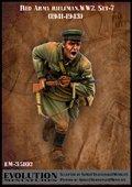 エボリューション[EM-35102]1/35 WWII戦うソビエト兵士(7)咆哮 1941〜43