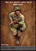 エボリューション[EM-35113]1/35 WWII戦うソビエト兵士(8)必死 1941〜43