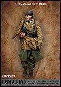 エボリューション[EM-35153]1/35 WWIIドイツ陸軍 防寒コート姿の歩兵
