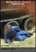 エボリューション[EM-35169]1/35 WWIIロシア赤軍戦車兵 脚を打たれた戦車兵 1939〜43