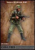 エボリューション[EM-35172]1/35 WWIIドイツ武装SS擲弾兵 応戦する下士官