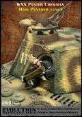 エボリューション[EM-35177]1/35 WWIIドイツ武装SS 空砲弾を捨てるパンサー戦車搭乗員