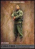エボリューション[EM-35190]1/35 WWIIアメリカ陸軍兵士 検分を見守る伍長