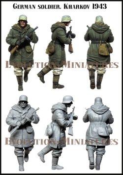 画像1: エボリューション[EM-35205]1/35 WWII  ドイツ陸軍兵士 鹵獲武器を愛用する歩兵 ハリコフ冬1943