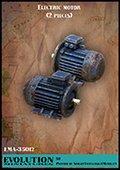 エボリューション[EMA-35012]1/35 出力用電気モーター(2個セット)