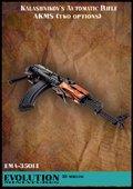エボリューション[EMA-35014]1/35 現用ロシア AKS自動小銃(ストック位置2種類入)