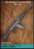 エボリューション[EMA-35020]1/35 現用ロシア AK-74M(2個入)