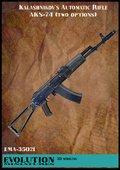 エボリューション[EMA-35021]1/35 現用ロシア AKS(ストック位置2種類入)