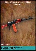 エボリューション[EMA-35022]1/35 現用ロシア AK-74(2個入)
