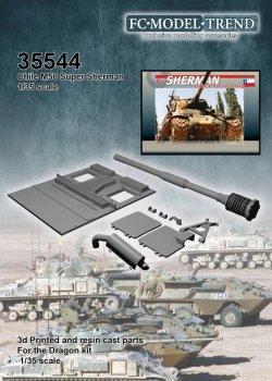 画像1: FC★MODEL[FC35544]M60 Super Sherman chileno. escala 1/35
