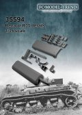FC★MODEL[FC35594]1/35 Renault R-35 tool clamps and exhaust