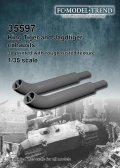 FC★MODEL[FC35597]1/35 King tiger/Jagdtiger exhausts