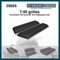 FC★MODEL[FC35655]Rejillas T-50, escala 1/35