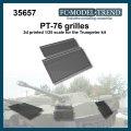 FC★MODEL[FC35657]PT-76 rejillas, escala 1/35