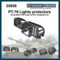 FC★MODEL[FC35658]PT-76 protecciones de faros, escala 1/35