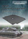 FC★MODEL[FC35737]Leopard 1A3 rear grille, 1/35 scale