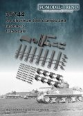 FC★MODEL[FC35744]M4 Sherman, tool clamps, 1/35 scale