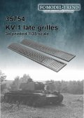 FC★MODEL[FC35754]KV1/2 rear grilles late type, 1/35 scale