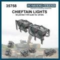 FC★MODEL[FC35758]Luces para Chieftain, escala 1/35