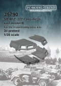 FC★MODEL[FC35790]Sd.Kfz. 222 early mesh roof, model B. Escala 1/35