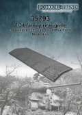 FC★MODEL[FC35793]T34 and family engine cover grille, for RFM model kits 1/35 scale