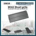 FC★MODEL[FC35835]M3A3 Stuart rejilla, escala 1/35