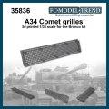 FC★MODEL[FC35836]Comet, rejilla escala 1/35