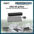 FC★MODEL[FC35837]ASU-85, rejillas escala 1/35