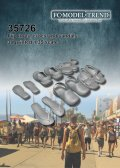 FC★MODEL[FC35726] Chanclas, crocs y sandalias, escala 1/35