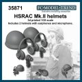 FC★MODEL[FC35871] Cascos HSRAC Mk.II, escala 1/35